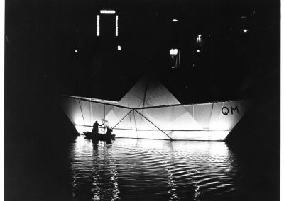 REFLECTIONS FROM A PAPER BOAT